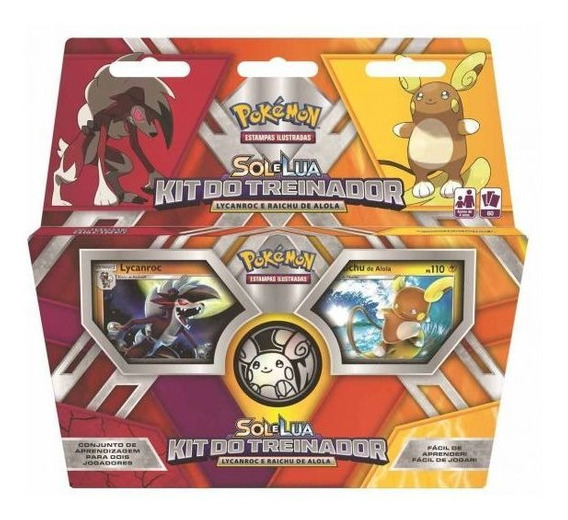 Pokémon Kit Do Treinador 97477 Copag - Colorido