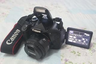 Canon T3i + Lente 50mm 1.8 Desconto A Vista