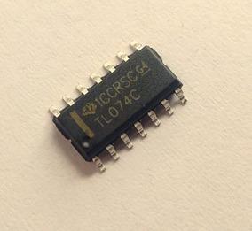 Kit 10 Tl074 Smd Sop14 - 4 Amplificador Operacional 3mhz