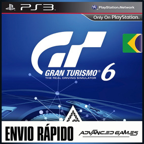 Gran Turismo 6 - Português - Jogos Ps3 Midia Digital