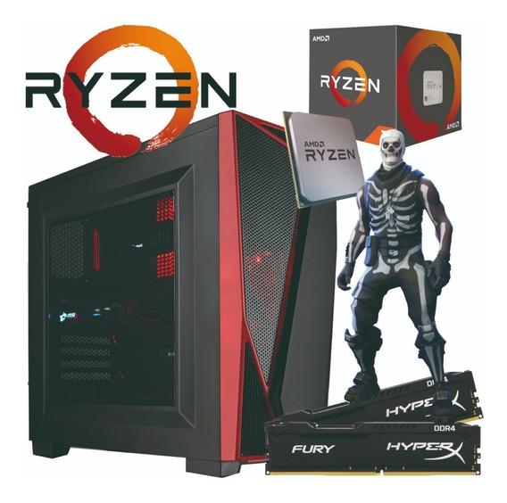 Pc Gamer Ryzen / 4gb Hyperx / 1tb / Gt 720 2gb / Real 500w