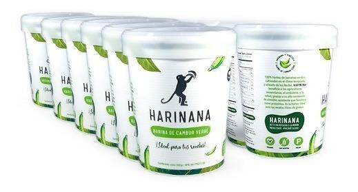Harina De Cambur Verde Sin Gluten Harinana 500g (x 12)