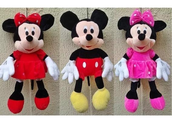 Minnie Rosa Ou Vermelha Ou Mickey 50cm Preço Por Unidade!