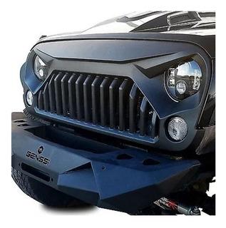 Parrilla Jeep Wrangler Jk Enojado Angry Bird Sahara Rubicon