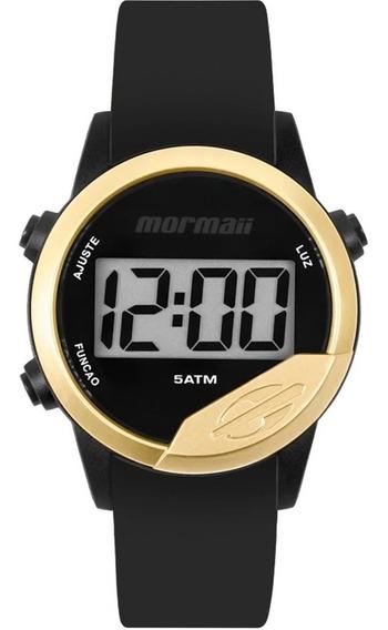 Relógio Digital Mormaii Masculino Dourado Mo4100ad8d