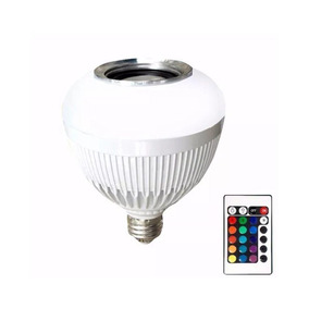 Lampada Led Music Bluetooth Bulb Bt-003 Com Controle Remoto