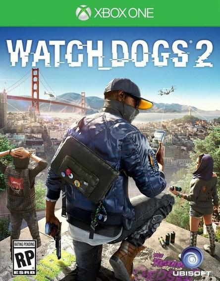 Jogo Watchdogs 2 Xbox One Midia Digital Online