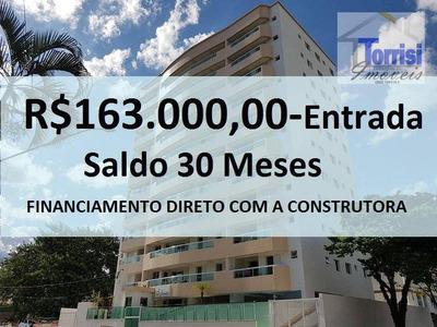 Apartamento Em Praia Grande. 02 Dormitórios Sendo 01 Suite.01 Vaga Com Piscina No Forte Ap1273 - Ap1273