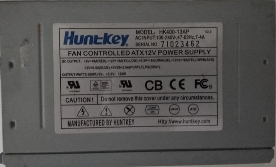 Fonte Atx Huntkey 300w 216w Reais Usado Funcionando