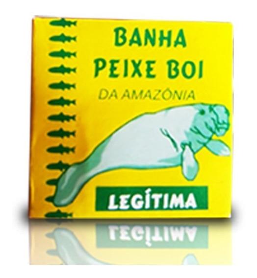 Caixa Pomada Peixe Boi Da Amazônia Banha