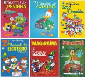 Coleção Hq Manual Escoteiro Autorama Disney Promoção (25 Un)