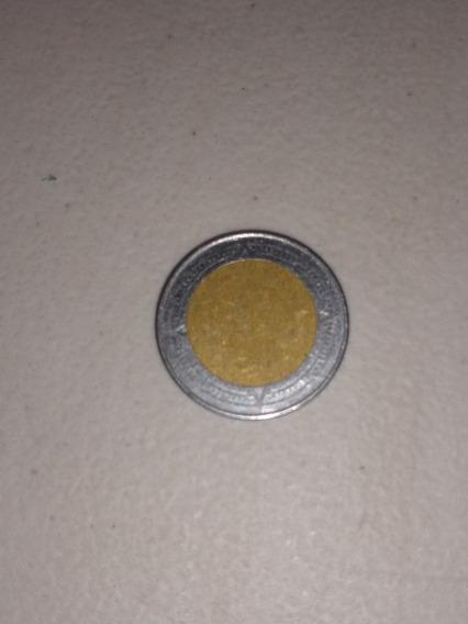 Moneda De 1 Peso Mexicano Sin Sello