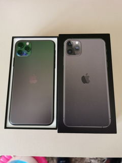 iPhone-11-pro Max, 256gb, Novo, Case De Brinde