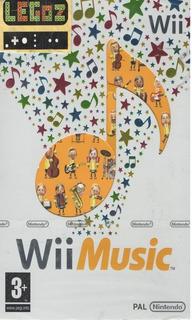 Legoz Zqz Wii Music-disco Sellado-wii-legoz Region Pal 1078