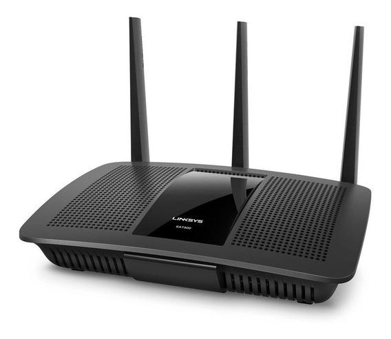 Access point, Router Linksys Max-Stream EA7300 negro 100V/240V