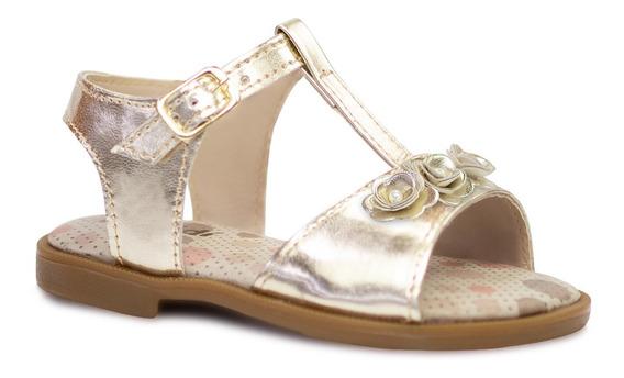 Sandalia Infantil Menina Sapato Flatform Avarca Moda 93