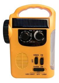 Rádio Tivdio Rd339 Multifuncional Am/fm Dínamo Emergência