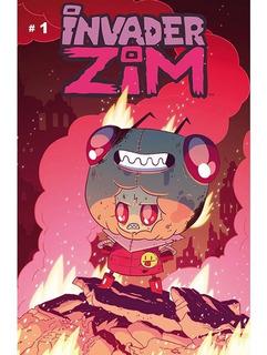 Comic Invader Zim No. 1 Portada C Editorial Kamite Cn