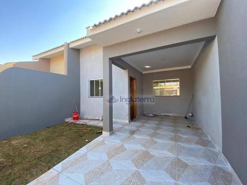 Imagem 1 de 14 de Casa À Venda, 92 M² Por R$ 300.000,00 - Lagoa Dourada - Londrina/pr - Ca1976