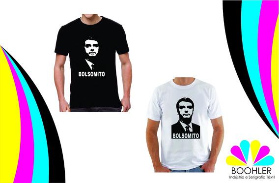 Kit 10 Camisetas Personalizada Engraçada Bolsomito Bolsonaro