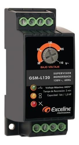 Supervisor Monofasico De Voltaje Exceline Hsta 1 Hp 120v /