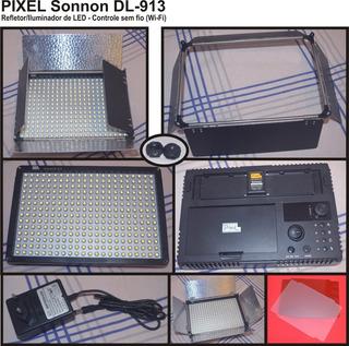 02-iluminador (refletor) 300 Led Pixel Sonnon Dl-913