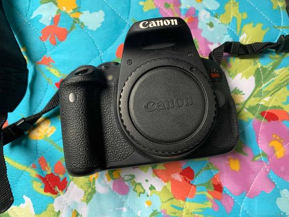 Câmera Cânon T5i Com 4 Lentes.