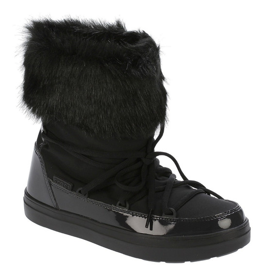 Botas Crocs Abrigo Lodgepoint Lace Boot W Black
