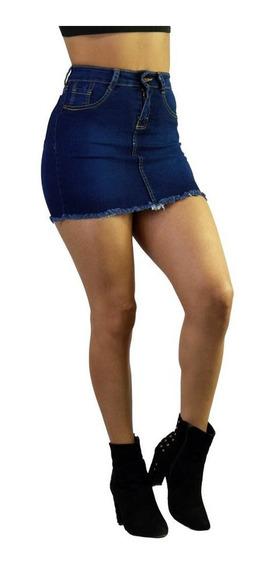 Faldas De Mezclilla Cortas Sexys Mujer De Moda 3 /j