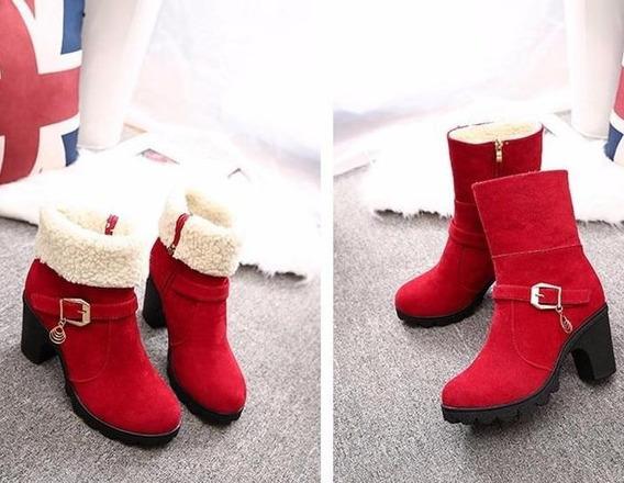 Ankle Boot Feminina Hee Grand 05213 Importado Frete Grátis