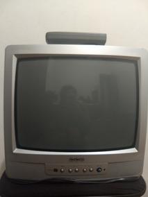 Tv 14 Polegadas, Funciona Perfeitamente Todos Os Canais!