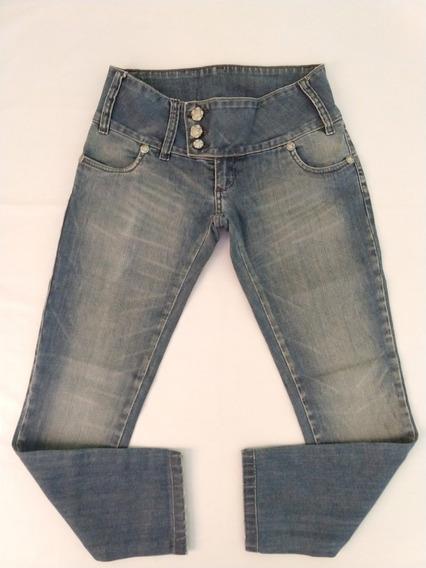 Calça Jeans Planet Girls Feminina 38 Skinny Oferta Original