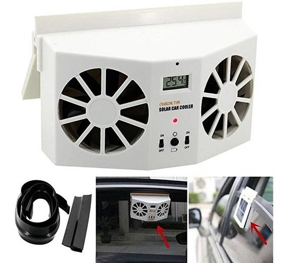 Ar Condicionado Ventilador Carro Solar Refrigerador Veiculo