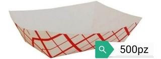 Bandeja Cartón 5lb 500pz