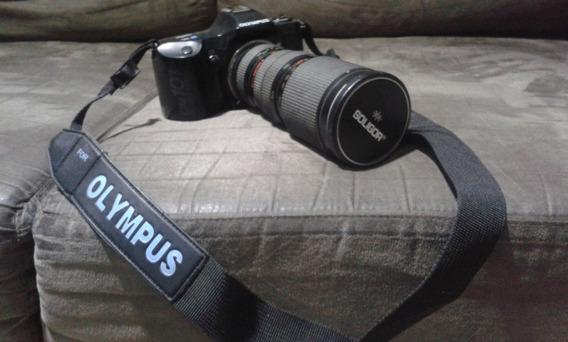 Câmera Fotografica Olympus Om 101 Lente 85-200mm