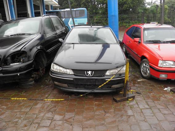 Peugeot 406 2.0 16v 2001 Sucata Para Peças Capo Farol Motor