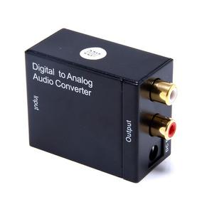 Kit Conversor Óptico Cabo Óptico + Cabo Rca +coaxial Digital