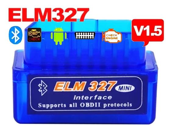 Scanner Diagnostico Automotivo Elm327 Obd2 1.5 Bluetooth Pes