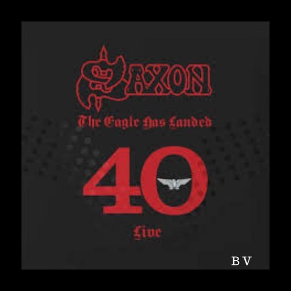 Saxon The Eagles Has Landed 40 Live 3cds Box Nacional