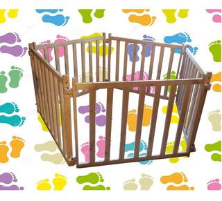Rejas Corral Para Bebe En Madera( Precio X Cada Reja )