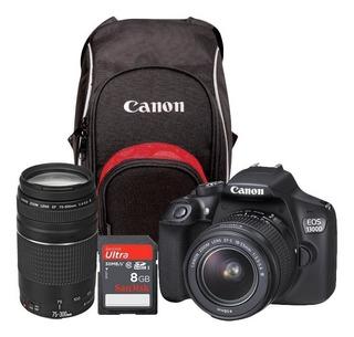 Cámara Digital Canon Eos Rebel T6 / 1300d Kit With 18-55 Iii