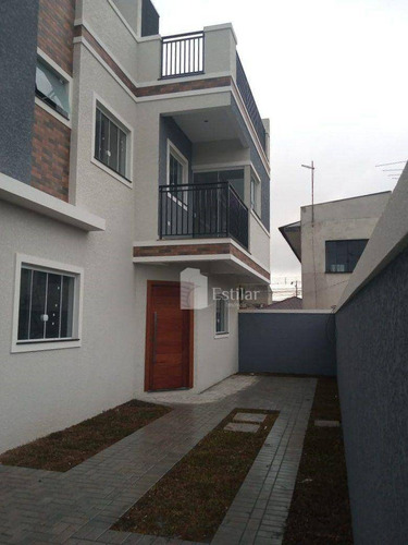 Imagem 1 de 24 de Sobrado 03 Quartos (01 Suíte) No Sítio Cercado, Curitiba - So0778