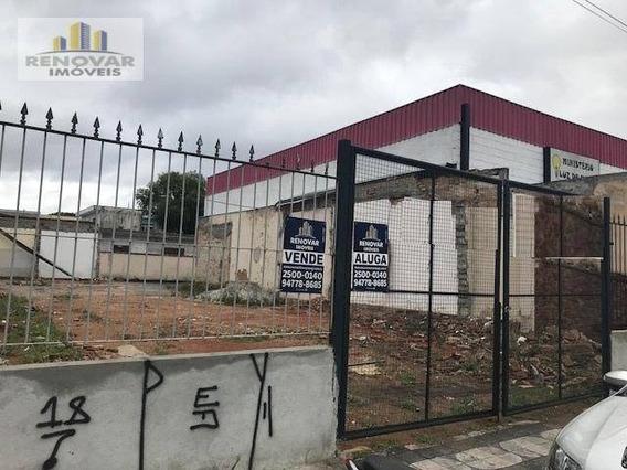 Terreno Residencial Para Venda E Locação, Vila Mogilar, Mogi Das Cruzes - . - Te0017