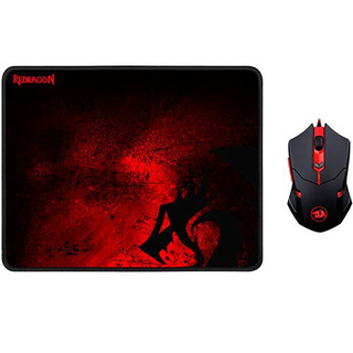 Combo Mouse + Mousepad Red Dragon