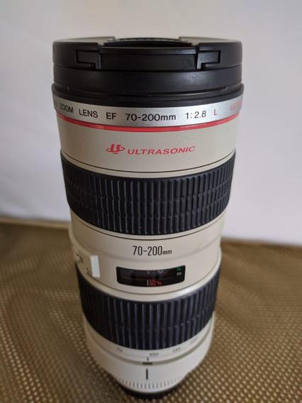 Lente Canon 70-200mm F2.8 L Usm 12x Iguais