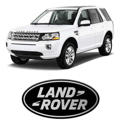 Imagem 1 de 2 de Emblema Automotivo Land Rover Black Resinado