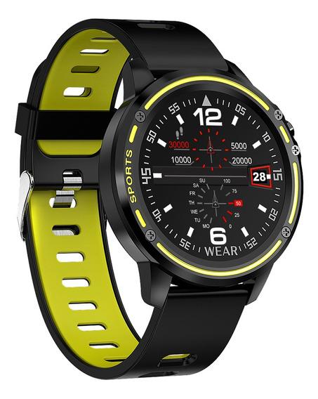 Reloj Inteligente Microwear L8 Impermeable Tipo Ip68.