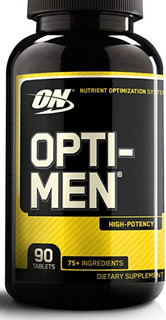 Optimen On 90 Tabs Multivitaminico Importado