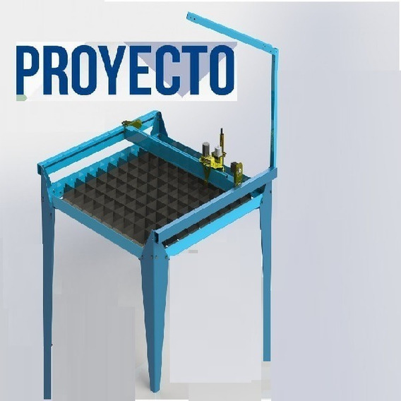 Proyecto Construye Mesa Corte Cnc Plasma Laser 2490x124