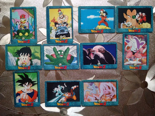11 Tarjetas Imagics Dragon Ball Z (1997)